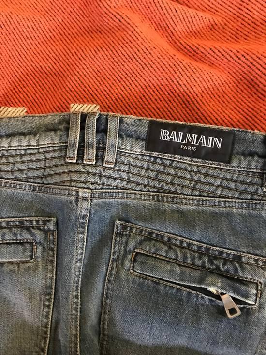 Balmain Balmain Classic Biker Jeans Size US 30 / EU 46 - 4