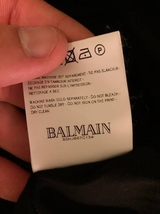 Balmain L/S Tee Black FW13 Size US XS / EU 42 / 0 - 2