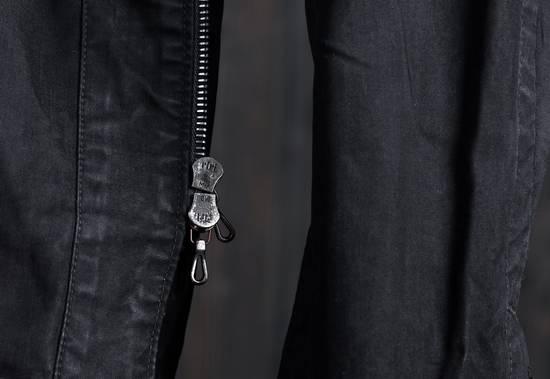 Julius high neck asymmetric zip waxed denim jacket Size US S / EU 44-46 / 1 - 10