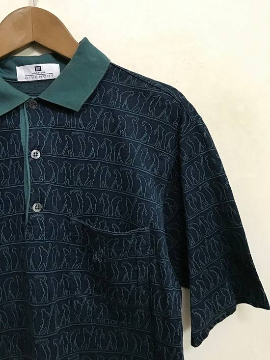 """Givenchy Made in Italy Monsieur Givenchy """" Art of Golfing """" Polo Collar Shirt Size US S / EU 44-46 / 1 - 2"""