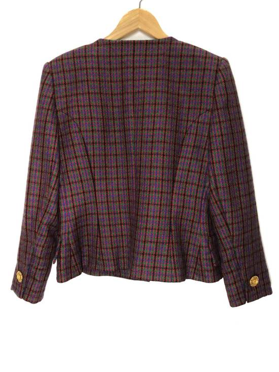 Givenchy Givenchy Multicolor Checked Blazer Jacket Size US S / EU 44-46 / 1 - 2