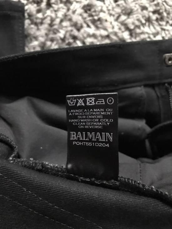 Balmain Balmain Biker Jeans Noir/Black Size 28 Size US 28 / EU 44 - 3