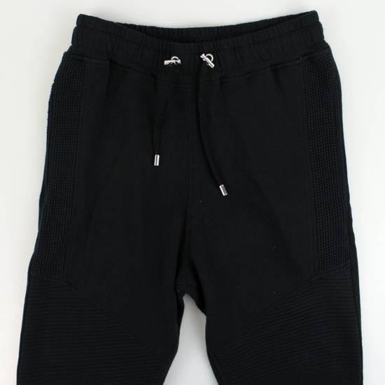 Balmain Men's Black Cotton Blend Leggings Biker Pants Size Small Size US 32 / EU 48 - 3