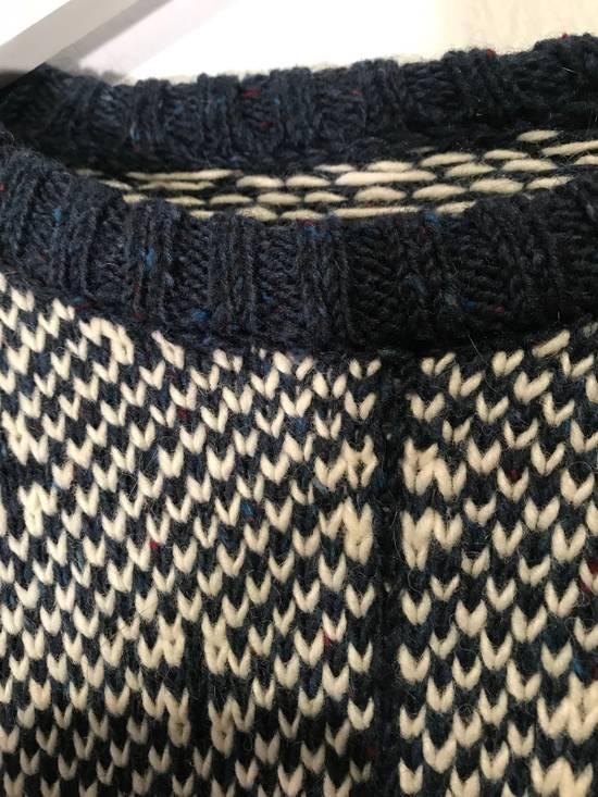 Thom Browne Jacquard-Knit Wool and Mohair-Blend Fairisle Sweater Size US M / EU 48-50 / 2 - 6