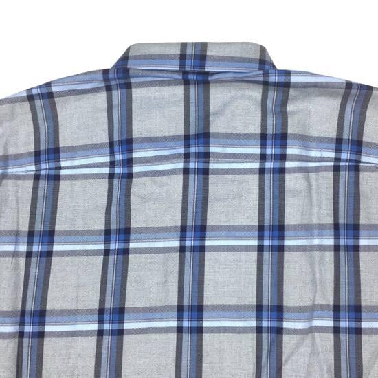Givenchy Blue Cuban Fit Flannel Shirt NWT Size US M / EU 48-50 / 2 - 8