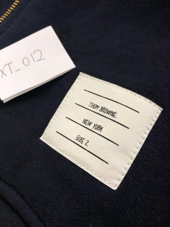 Thom Browne STEAL- New 4 Bar Engineered Hooded Sweatshirt Zipper Hoodie NWOT Size US M / EU 48-50 / 2 - 3