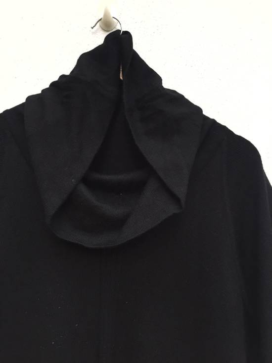 Balmain Authentic Japan Market Black Minimalist Shawl Collar Double Pocket Oversized Stretch Shirt Size US L / EU 52-54 / 3 - 2
