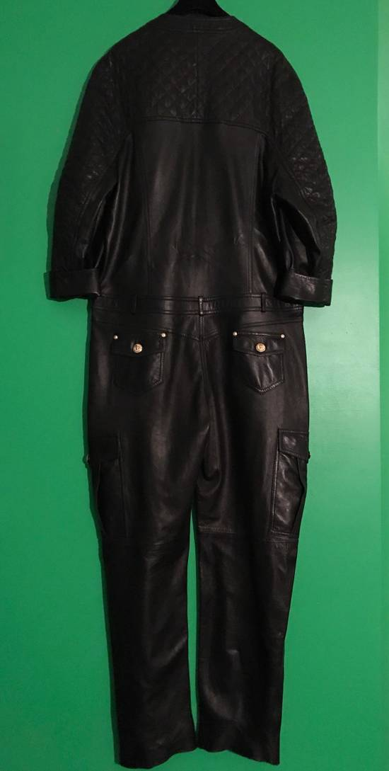 Balmain Balmain Spring 2014 Leather Jumpsuit Size US XL / EU 56 / 4 - 10