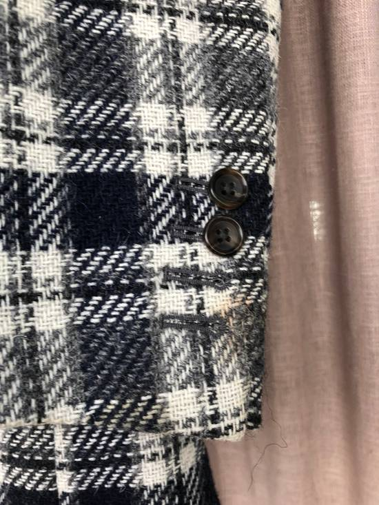 Thom Browne Navy/Grey Plaid Sportcoat Jacket Size 1 Size 38R - 4
