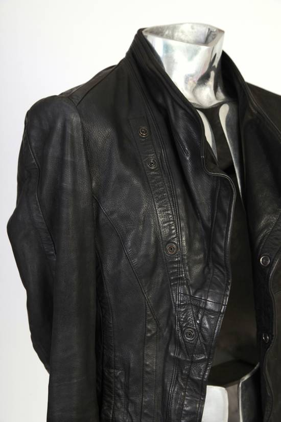 Julius Julius Dove Tail Leather Jacket EU46 Small Size 2 S/S 2012 Size US S / EU 44-46 / 1 - 8