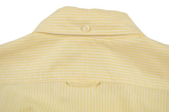 Thom Browne White Grossgrain, Yellow Stripe Oxford Size US L / EU 52-54 / 3 - 9