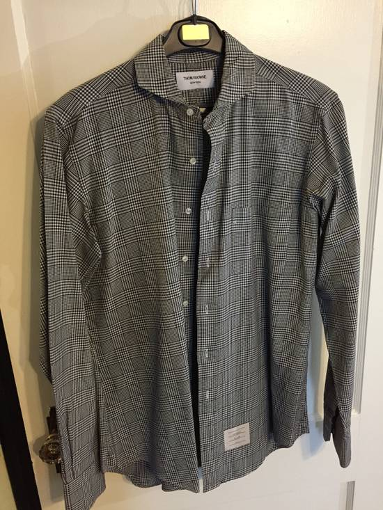 Thom Browne Cotton Checkered Shirt Size US L / EU 52-54 / 3