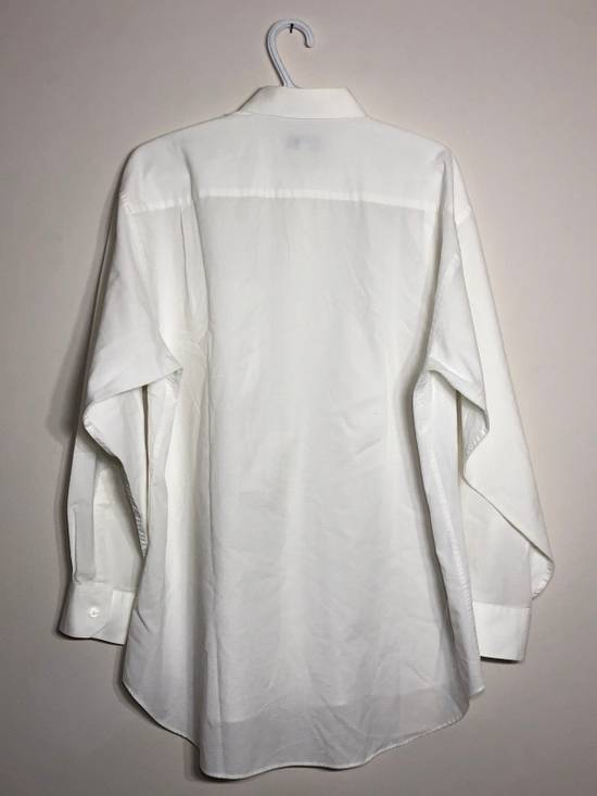 Givenchy White Ripstop Long sleeve Button down Size US XL / EU 56 / 4 - 3