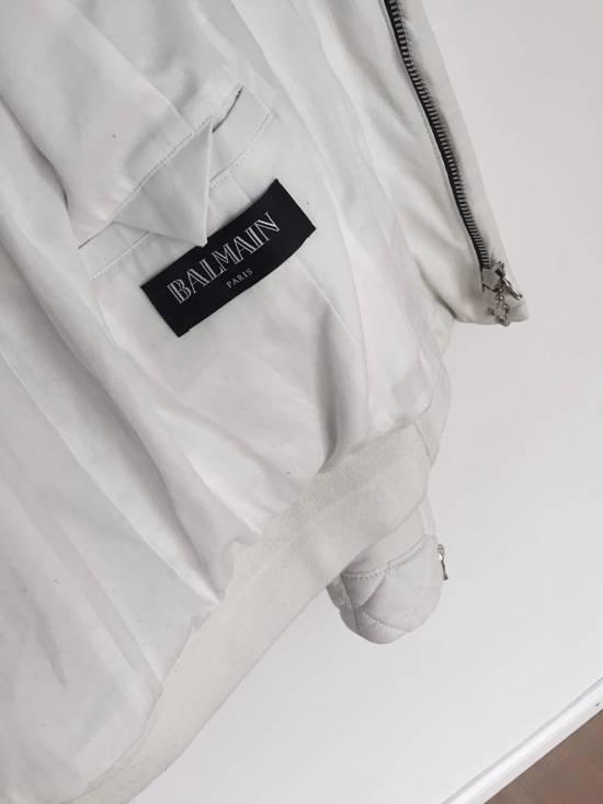 Balmain Balmain Quilted Rider Leather Jacket Size US M / EU 48-50 / 2 - 2