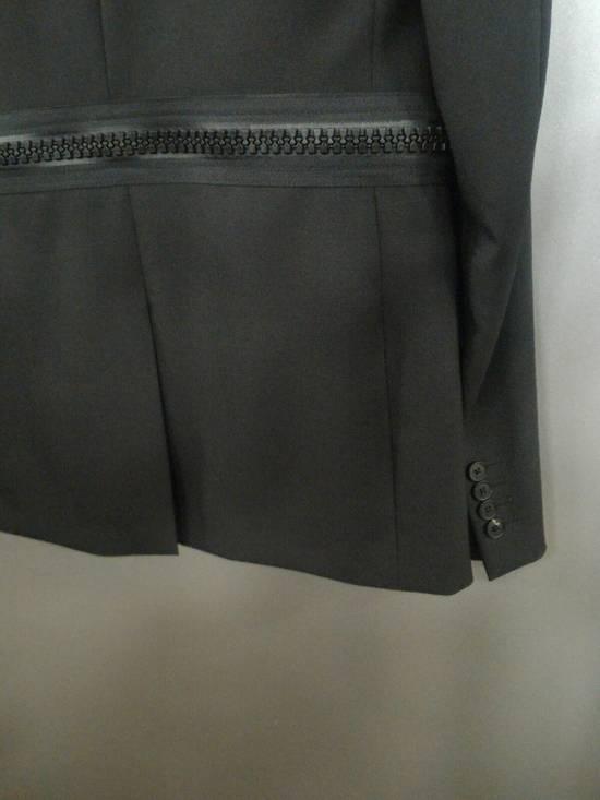 Givenchy 46-48 Zipped Blazer Mohair & Wool Jacket Size US M / EU 48-50 / 2 - 4