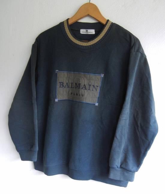 Balmain [NEED IT GONE BY TODAY] 90s Pierre Balmain Retro Green Sweatshirt Medium sz Size US M / EU 48-50 / 2