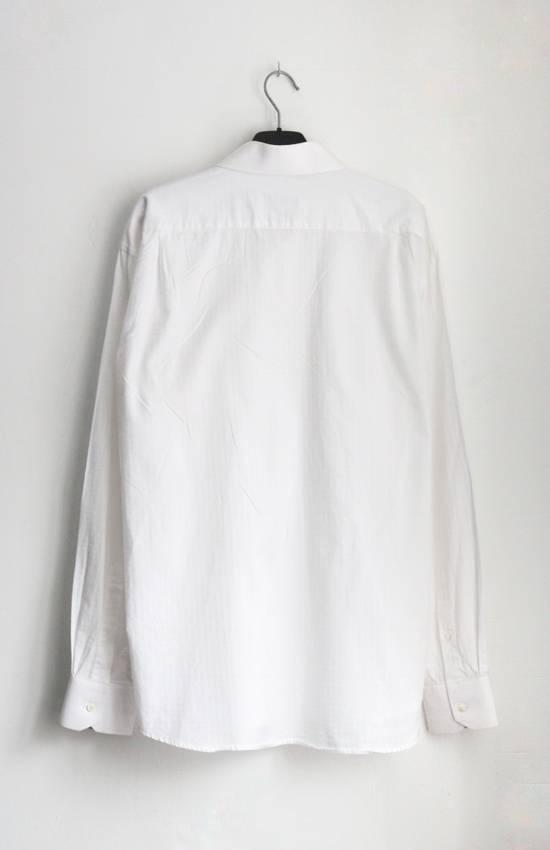 Balmain Classic Processed Cotton Shirt Size US XL / EU 56 / 4 - 1