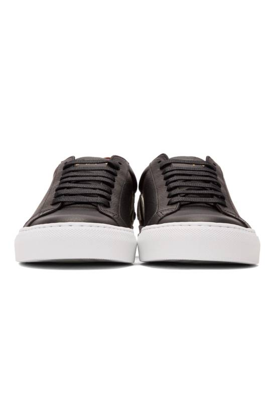 Givenchy Black Reverse Logo Urban Street Sneakers Size US 9 / EU 42 - 1