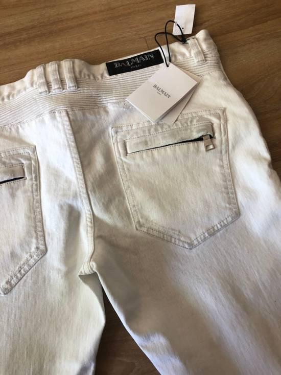 Balmain NWT, THE BEST! Biker Jeans (WAS $1650) - RUNS SMALLER Size US 36 / EU 52 - 6