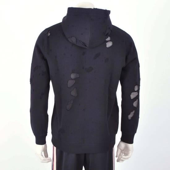 Givenchy Black Destroyed Givenchy Paris Logo Print Hoodie Size US M / EU 48-50 / 2 - 3