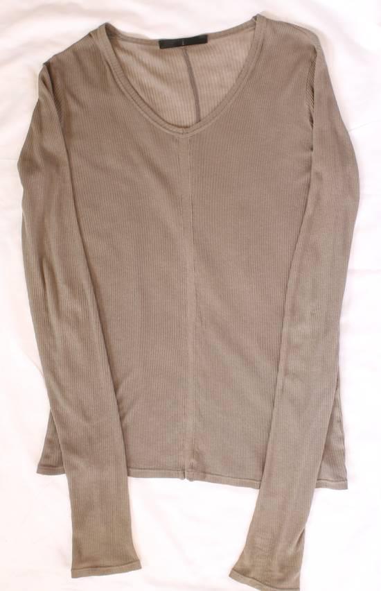 Julius SS09 Silk Blend Ribbed V-neck Sweater Size US S / EU 44-46 / 1