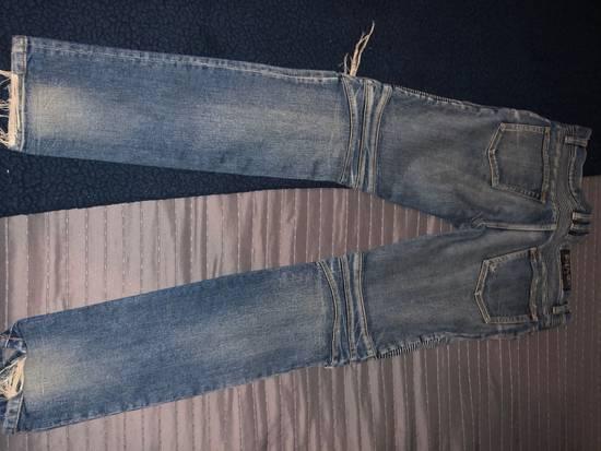 Balmain Balmain Distresses Biker Jeans Size US 31 - 3