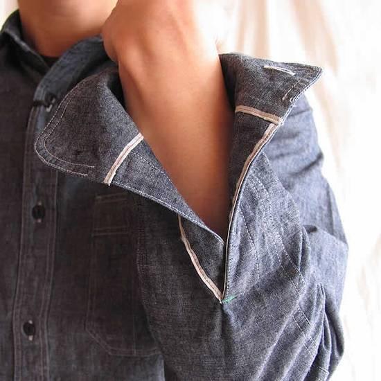 Nigel Cabourn chambray medical shirt Size US L / EU 52-54 / 3 - 6