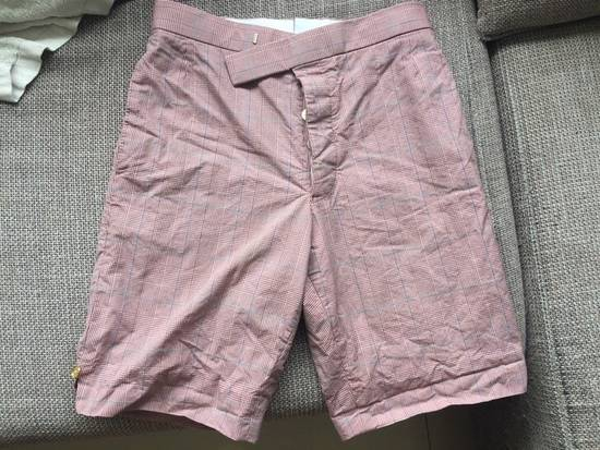Thom Browne Red Checkbox Shorts Size US 28 / EU 44