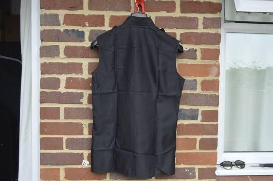 Givenchy Silk Blend Military Sleeveless Shirt Size US S / EU 44-46 / 1 - 5