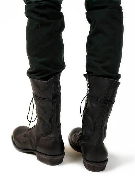 Julius f/w09 Tall Combat Boots Black Size US 11 / EU 44 - 14
