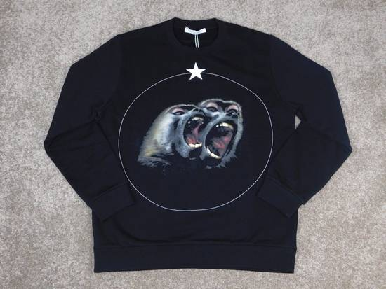 Givenchy Givenchy Monkey Brothers Sweatshirt 100% Authentic RRP £520 Size US L / EU 52-54 / 3 - 1
