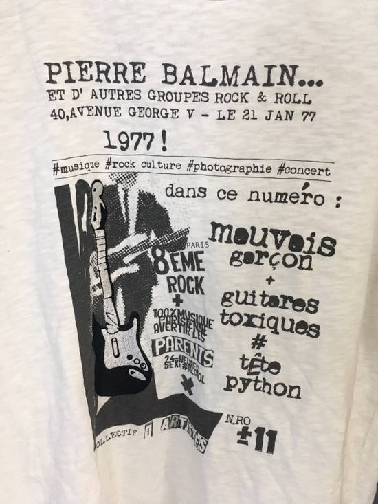 Balmain Pierre Balmain Embroidered T-Shirt Size US L / EU 52-54 / 3 - 1