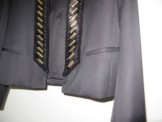 Balmain Beads embroidered collar blazer Size 48R - 4