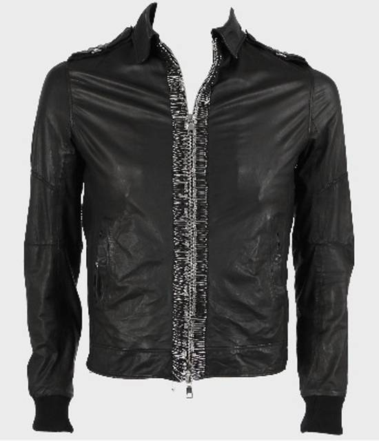 Balmain Safety Pin Biker Jacket Size US S / EU 44-46 / 1 - 14