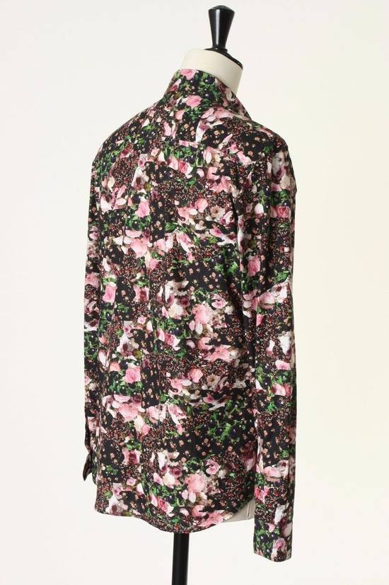 Givenchy GIVENCHY Pre14 reversed panel rose floral digital print cotton shirt US40 FR50 Size US M / EU 48-50 / 2 - 6