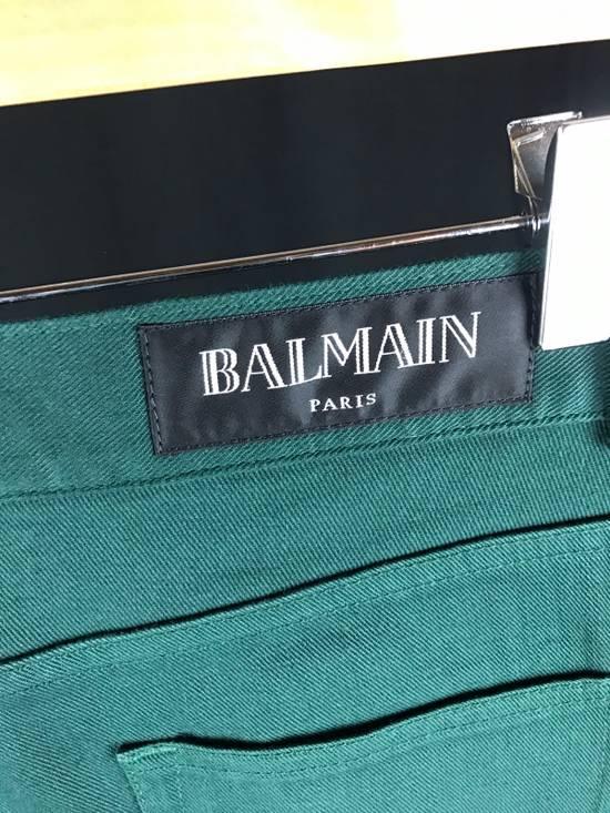Balmain Dark Green Pants Size US 30 / EU 46 - 3