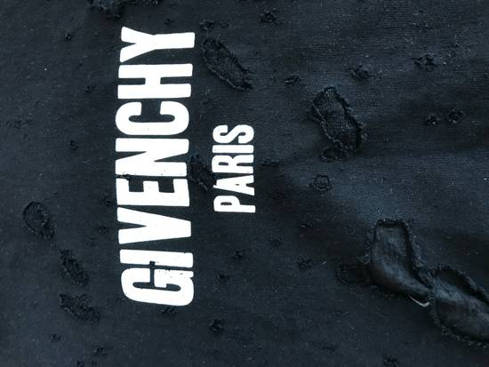 Givenchy Givenchy distressed logo hoodie Size US L / EU 52-54 / 3 - 1