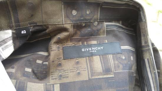 Givenchy Givenchy Dark Circuit 17 Deck Tape Rottweiler Shark Oversized Shirt size 40 (L) Size US L / EU 52-54 / 3 - 8