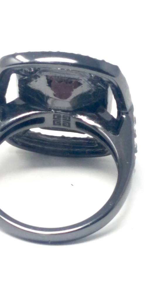 Givenchy Gunmetal ring size 8 Size ONE SIZE - 4