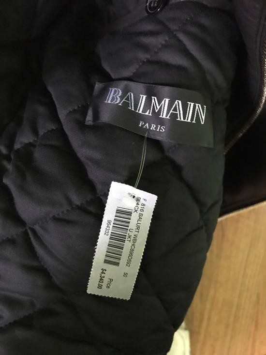 Balmain Balurt Leather Jacket Size US M / EU 48-50 / 2 - 6