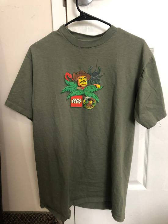 Vintage Vintage LEGO Jungle Adventures olive green t-shirt Size US M / EU 48-50 / 2 - 2