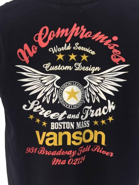Vanson Leathers VANSON LEATHER NO COMPROMISE BOSTON MASS NICE DESIGN SHIRT Size US M / EU 48-50 / 2 - 2