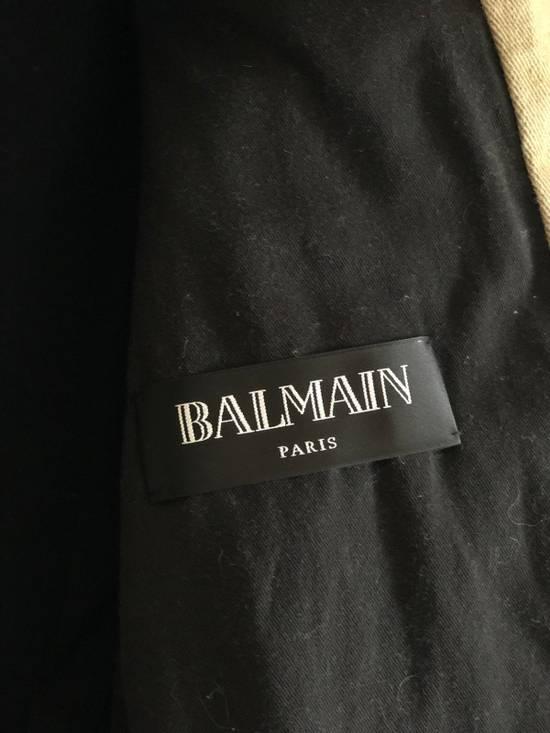 Balmain Balmain Denim Moto Jacket Size US M / EU 48-50 / 2 - 1