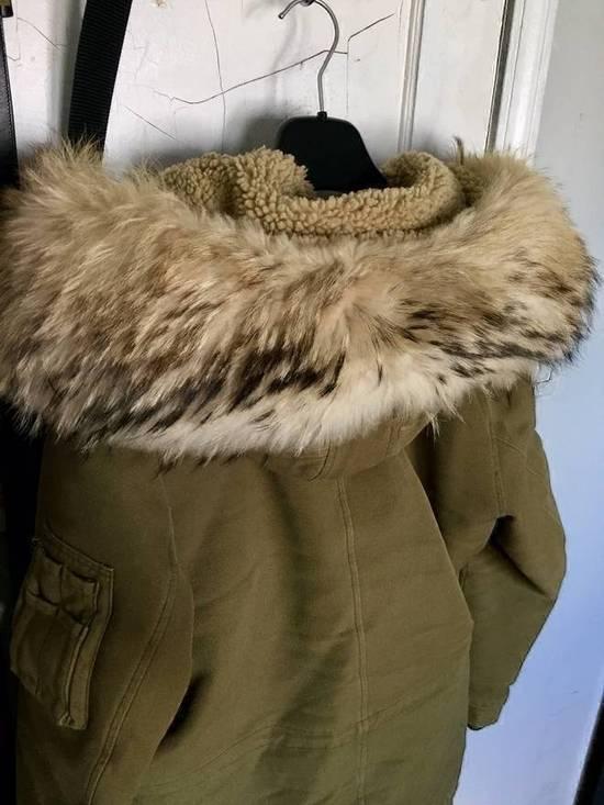 Balmain Fall 2011 Decarnin Fur Parka Size US L / EU 52-54 / 3 - 4