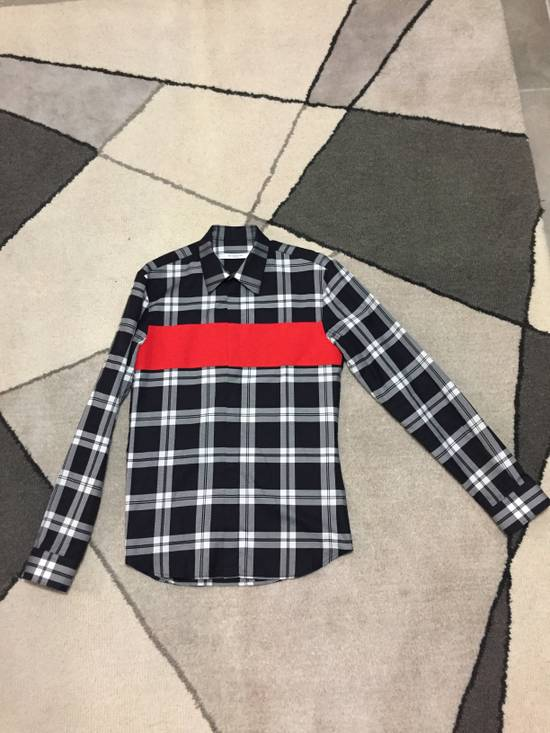 Givenchy Red block button up shirt Size US M / EU 48-50 / 2