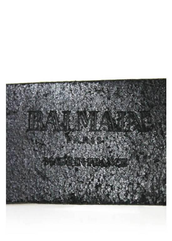 Balmain BALMAIN SILVER TONE BELT Size 38 - 3