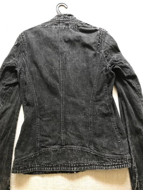 Julius AW12 faded denim jacket with zip. Size US M / EU 48-50 / 2 - 5