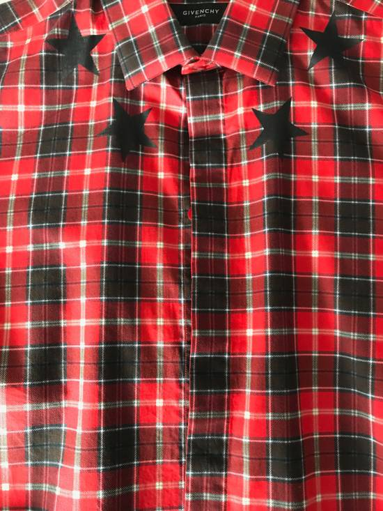 Givenchy Red Check Star shirt Size US S / EU 44-46 / 1 - 8