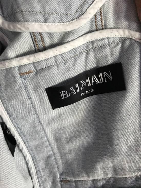 Balmain Balmain denim jacket with belt Size US M / EU 48-50 / 2 - 1