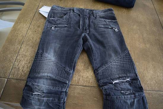 Balmain Balmain Authentic $990 Biker Jeans Size 27 Slim Fit Brand New With Tags Size US 27 - 1